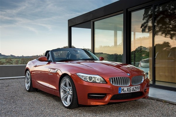 2014 Bmw Z4 Roadster Front