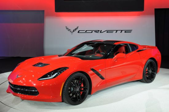 GM to Auction First C7 Corvette