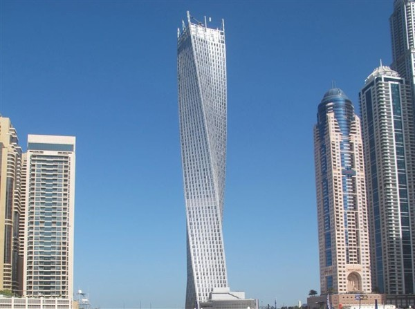 Dubai S Twisted Tower American Luxury