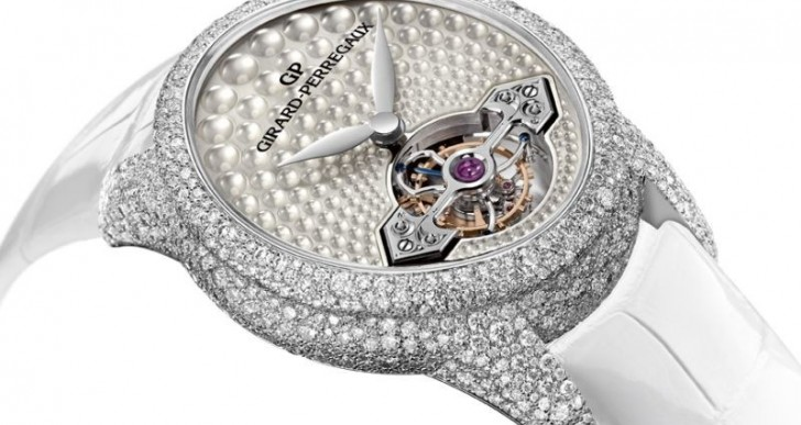 Girard Perregaux Cat's Eye Jewelry Tourbillon