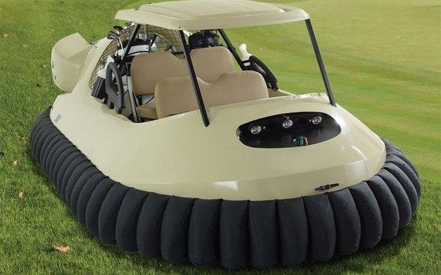 Ohio Golf Course Offer Hovercrafts