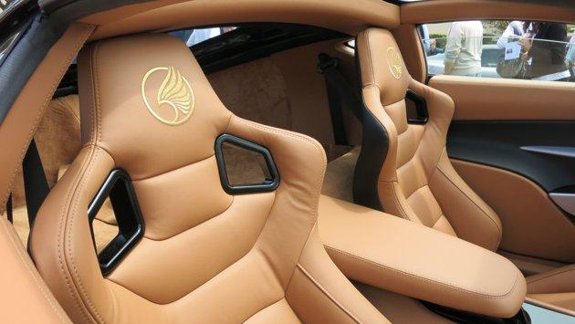 1750-Horsepower Laraki Supercar, Seats