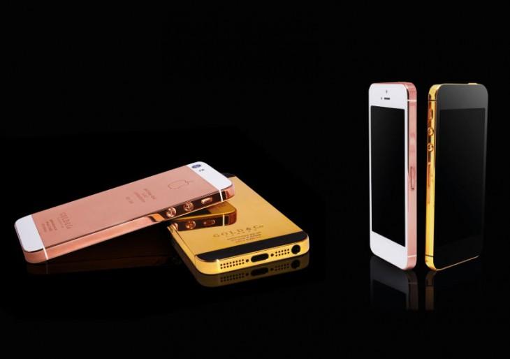 24-Karat Gold iPhone 5S