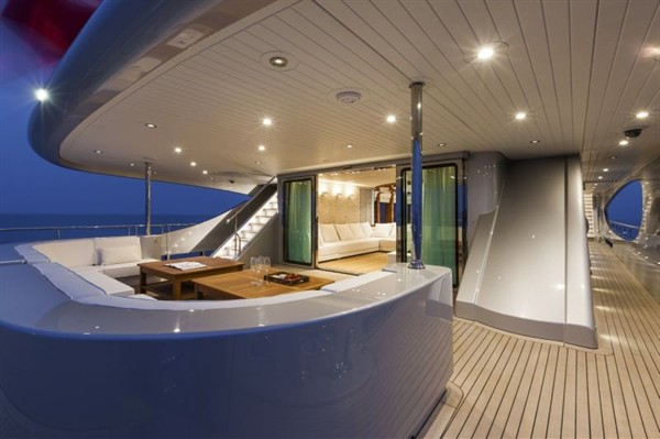 Vicem 46M Yacht Wins Interior Design Award, Deck 2