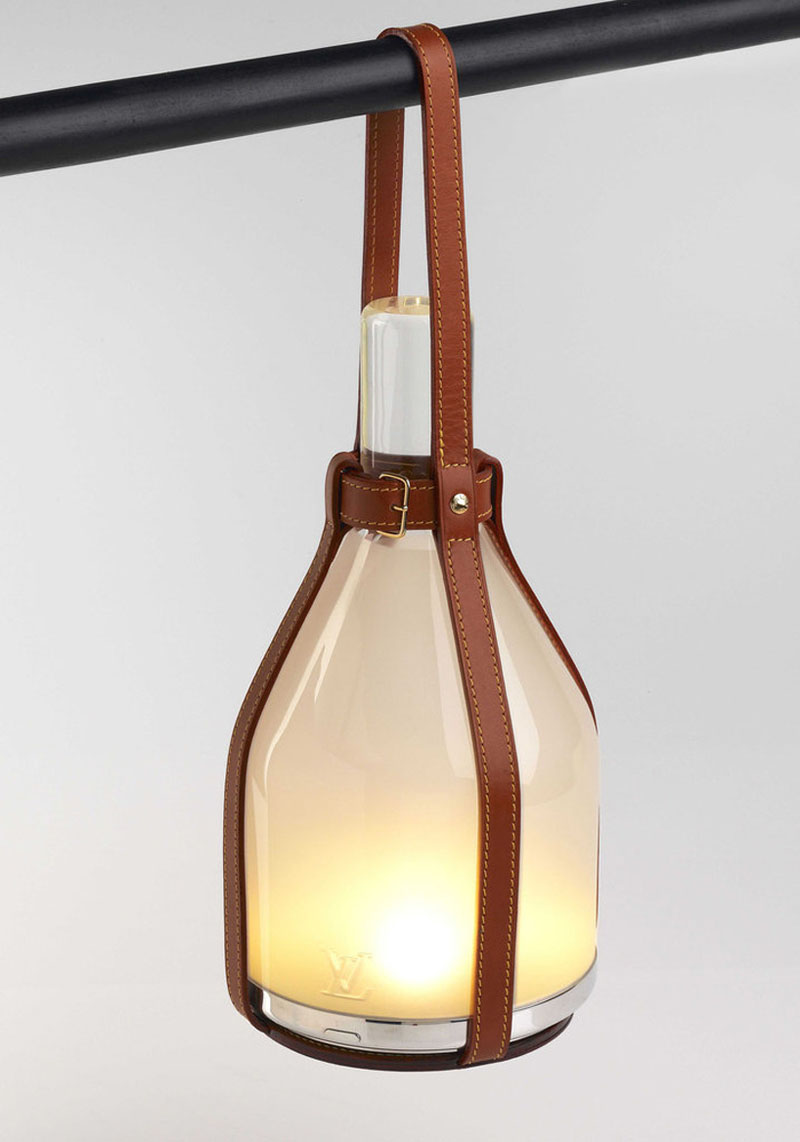 Louis Vuitton Objets Nomades, Solar Powered Lamp