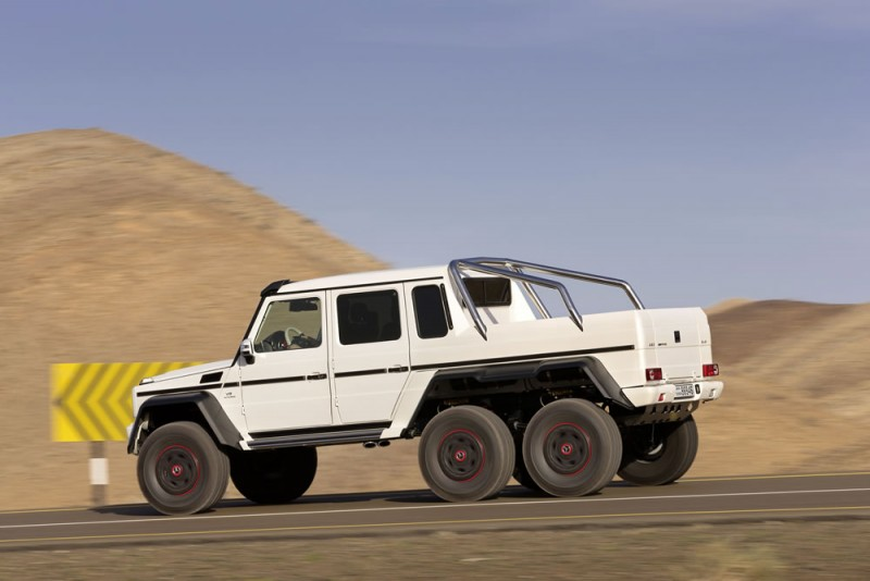 $1.35M Bulletproof Mercedes Benz G63 AMG 6×6, On The Road