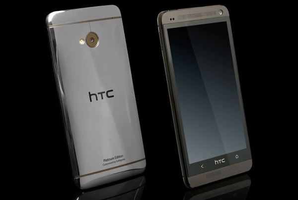 Gold-Plated HTC One, Platinum