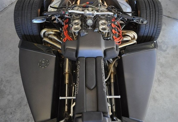 Lazareth Wazuma V8F Matte Edition, Internal Workings