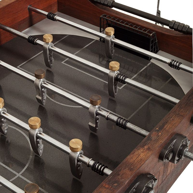 Foosball Table with Vintage Looks, Players