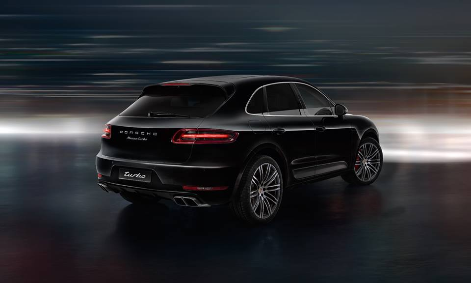 2015 Porsche Macan, In Black
