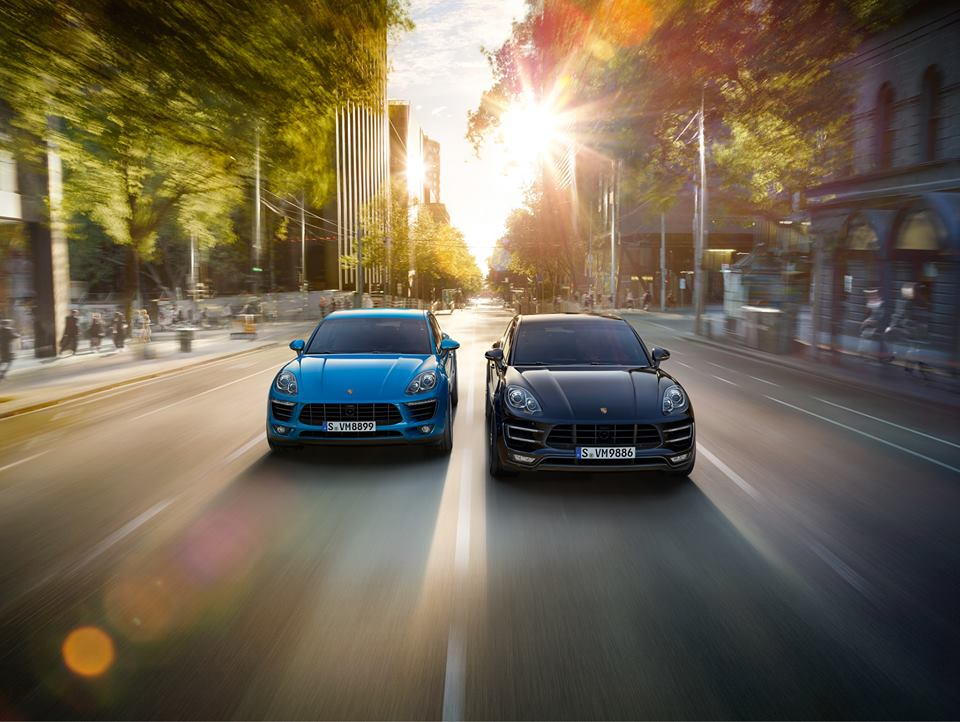 2015 Porsche Macan, Side By Side