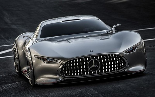 Mercedes-Benz AMG Vision Gran Turismo, In Action