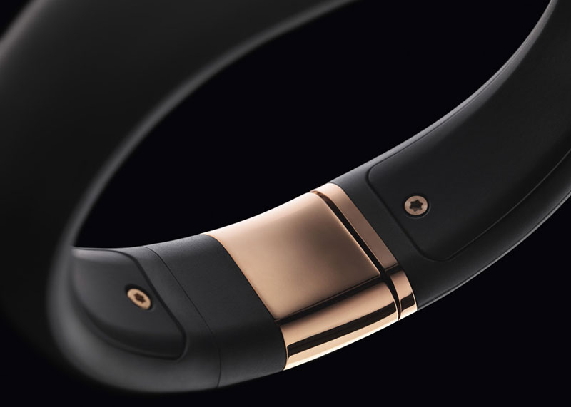 Rose Gold Nike+ FuelBand SE, Stainless Steel Hardware