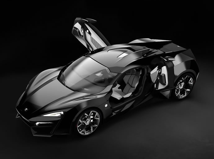 $3.4M Lykan Hypersport Features Holographic Navigation