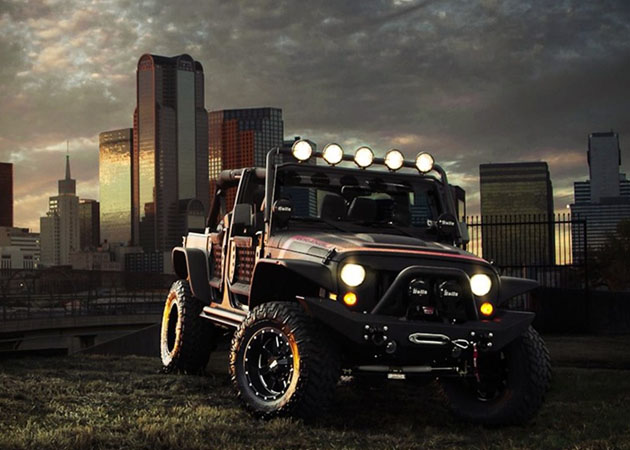 Apocalypse-Grade Jeeps by Starwood Motors, Front