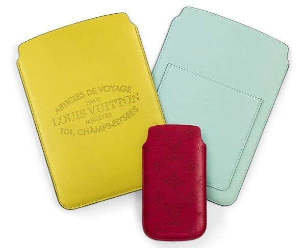 Louis Vuitton Leather Covers for iPhone and iPad, Multi-Color