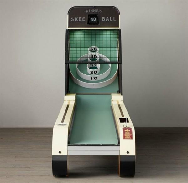 Vintage Arcade Skeeball by Restoration Hardware, Timeless Classic