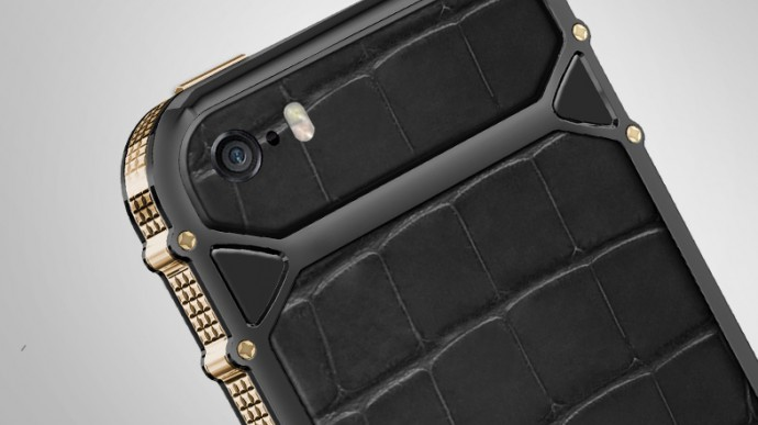 Gold-Studded iPhone Cover Comes With a Concierge