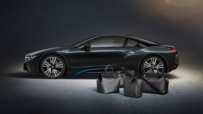 Louis Vuitton Exclusive Travel Bags for BMW i8