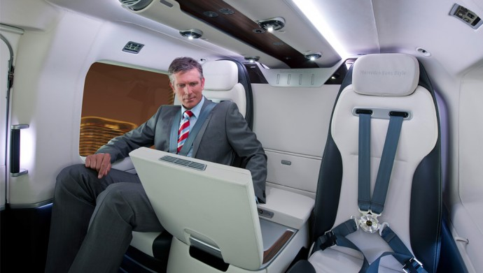 Airbus Helicopter Features Mercedes Benz Interior