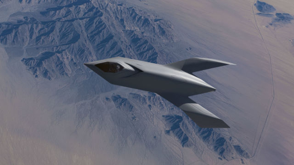 'Bird Of Prey' Prototype By Boeing
