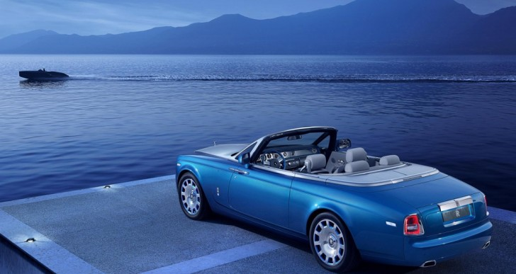 Rolls-Royce Phantom Drophead Coupe Bespoke Waterspeed