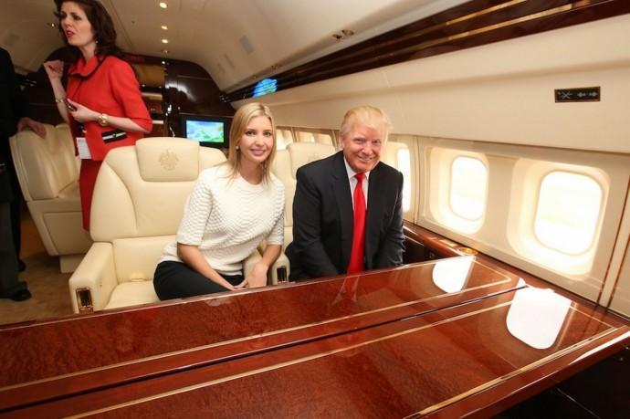 Take a look inside donald trump s 100m jet american luxury