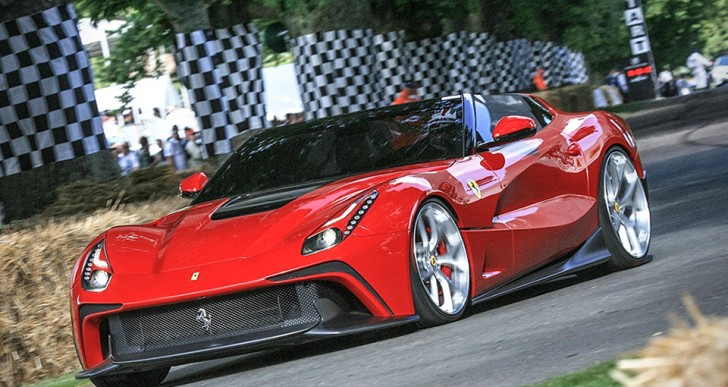 One-of-a-Kind Ferrari F12 TRS