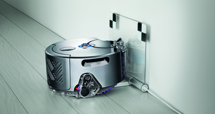 Dyson Creates World's First Robot Vacuum Cleaner to Map the House with a Panoramic Camera