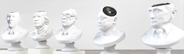 'Sound of Power' Speakers Are Shaped Like Famous Politicians and Dictators