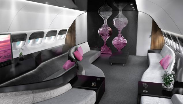 For $100M, You Can Customize the Interior of Your Dreamliner Jet