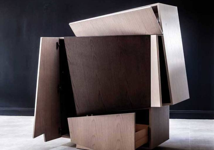 Booleanos Cabinet Is a Piece of Art