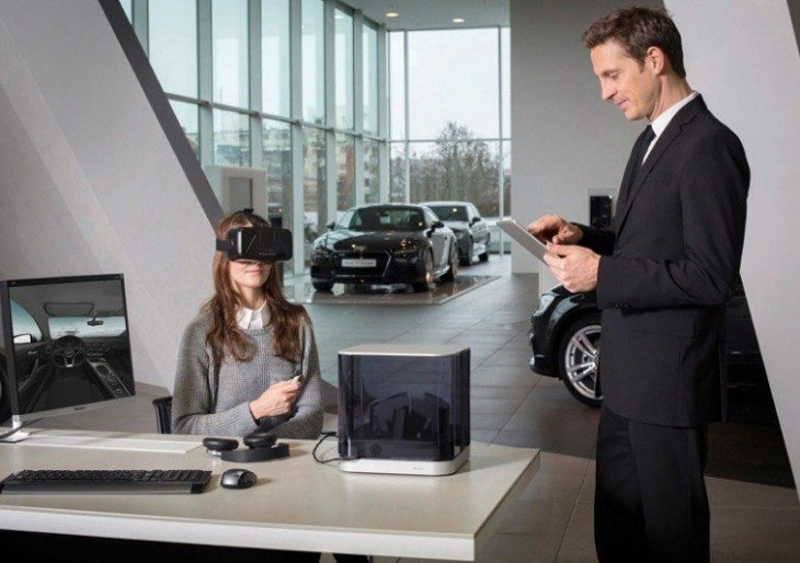 Audi Customers Will Get to Build Their Dream Cars Using VR Headsets