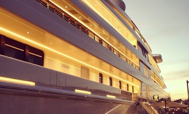 $605M Superyacht—the World's Largest and Most Expensive—Spotted in Spain