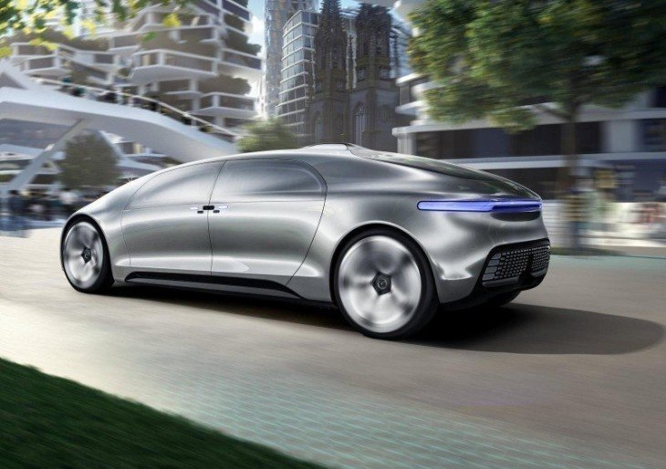 mercedes benz f 015 self driving concept american luxury