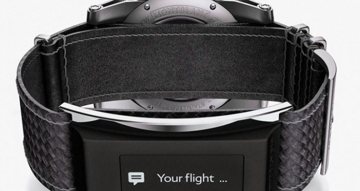 Montblanc Watch Comes With Smart Strap