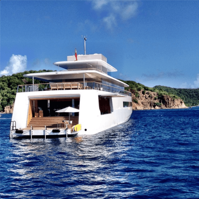 New Pictures of Steve Jobs' Yacht | American Luxury