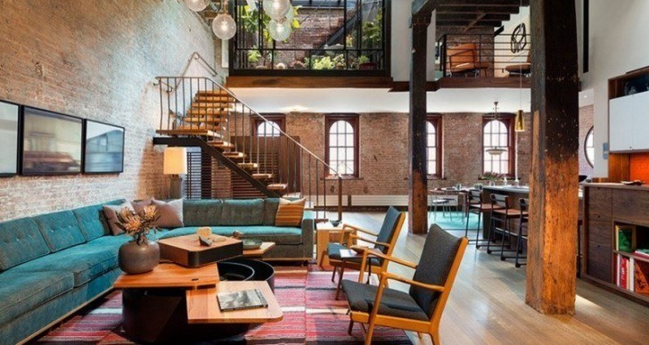19th Century Caviar Warehouse Turned Into Loft in New York