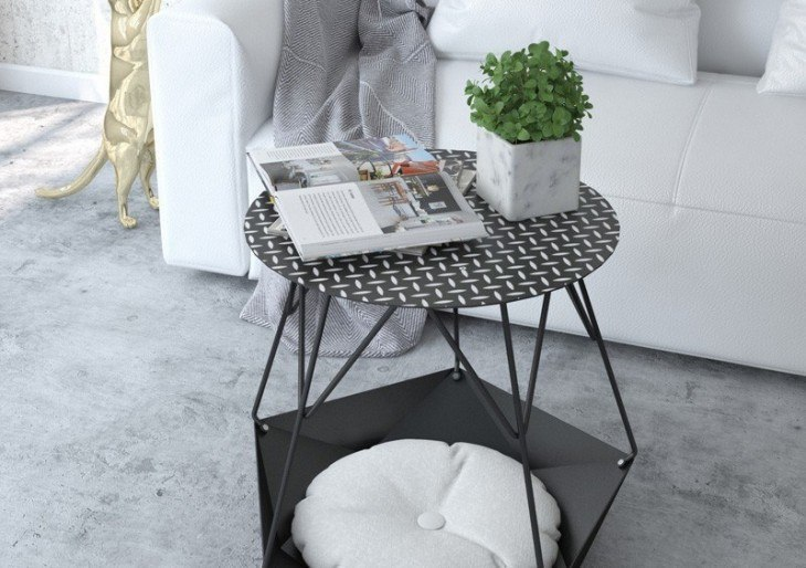 A Side Table for Cat Lovers