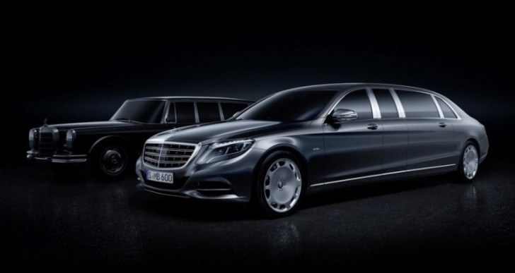 At $570k, the Mercedes-Maybach Pullman Is a VIP Lounge on Wheels