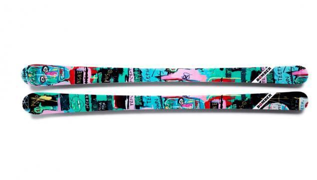 Basquiat-Inspired Skis