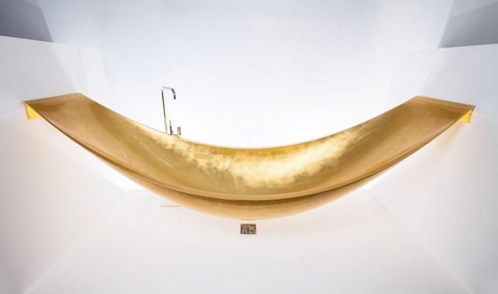 For $100k, You Can Soak In A Gold Hammock Bathtub