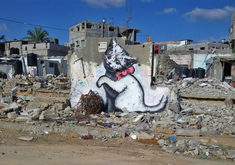 latest-banksy-pieces-turn-up-in-gaza1