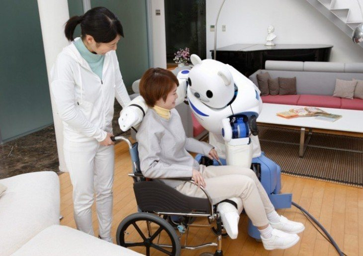 Robear Robot Assists Nurses in Caring for the Elderly | American Luxury