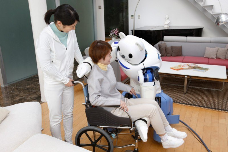 Robear Robot Assists Nurses In Caring For The Elderly