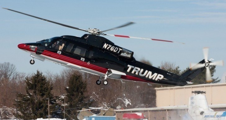 A Peek Inside Donald Trump's Newly Redesigned Helicopter