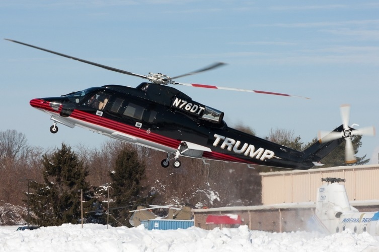 Peek Inside Donald Trump's Newly Redesigned Helicopter | American ...