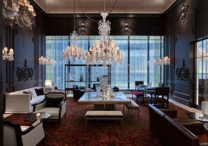 world 39 s first baccarat hotel in ny is opulent american
