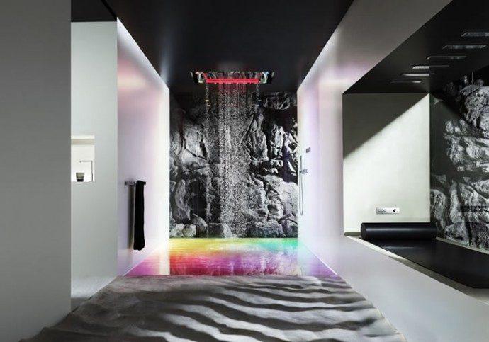 Dornbracht Sensory Sky Shower Uses A Symphony Of Light