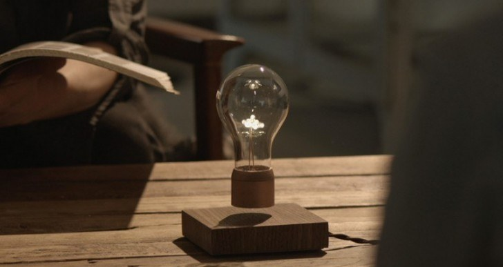 Flyte Wireless Lights Use Magnetic Levitation